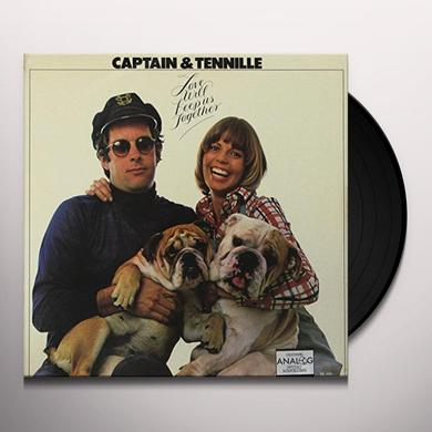 Captain & Tennille LOVE WILL KEEP US TOGETHER Vinyl Record