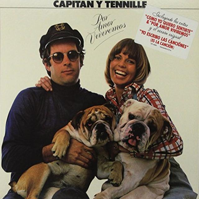 Captain & Tennille POR AMOR VIVIREMOS Vinyl Record