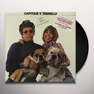 Captain & Tennille POR AMOR VIVIREMOS Vinyl Record