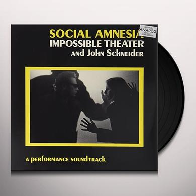 IMPOSSIBLE THEATRE SOCIAL AMNESIA / O.S.T. Vinyl Record