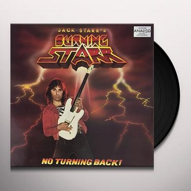 JACK STARR'S BURNING STARR NO TURNING BACK Vinyl Record