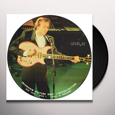 Level 42 80'S INTERVIEW Vinyl Record