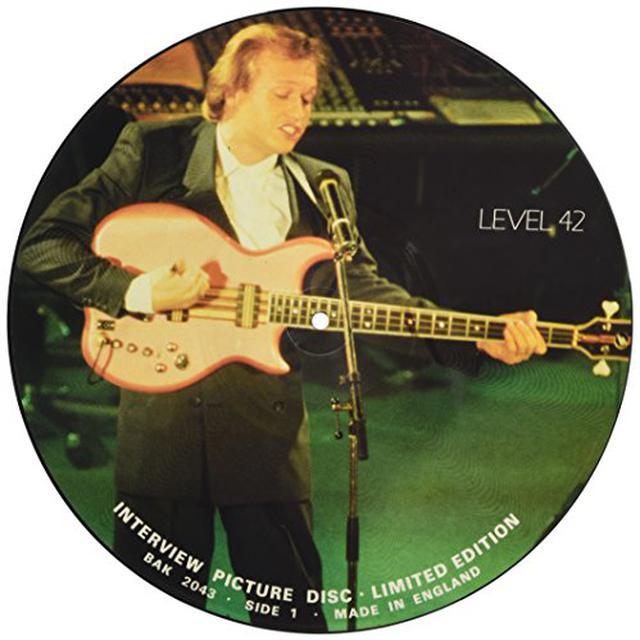 Level 42 80'S INTERVIEW Vinyl Record