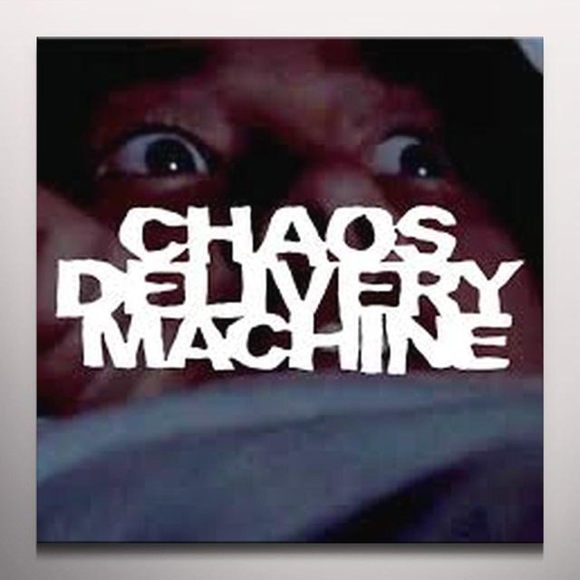 CHAOS DELIVERY MACHINE BURN MOTHERFUCKER BURN Vinyl Record - Gatefold Sleeve, 180 Gram Pressing, White Vinyl