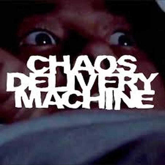 CHAOS DELIVERY MACHINE BURN MOTHERFUCKER BURN Vinyl Record - Gatefold Sleeve, 180 Gram Pressing, White Vinyl