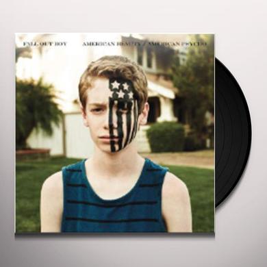 Fall Out Boy AMERICAN BEAUTY / AMERICAN PSYCHO Vinyl Record