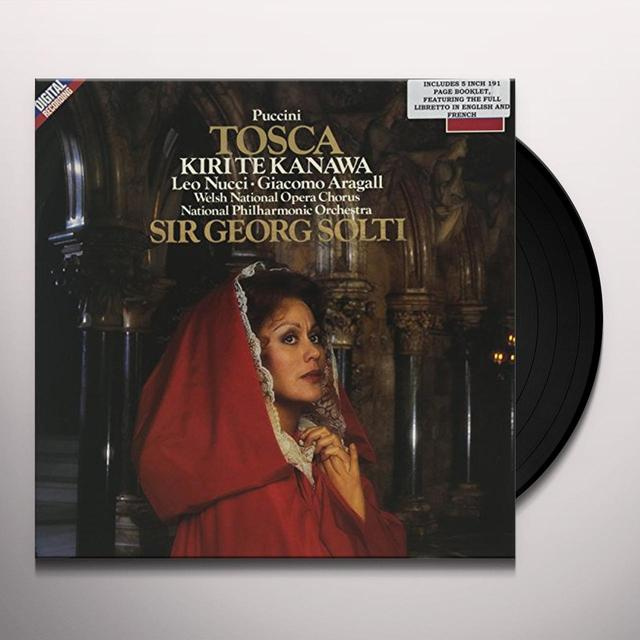 PUCCINI / SOLTI / WELSH NATIONAL OPERA CHORUS TOSCA : TE KANAWA Vinyl Record