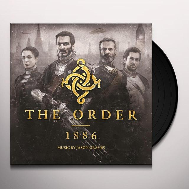ORDER: 1886 (JASON GRAVES) / O.S.T. (HOL) ORDER: 1886 (JASON GRAVES) / O.S.T. Vinyl Record - Holland Import