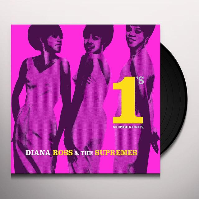 Diana Ross & The Supremes NUMBER ONES Vinyl Record - Holland Import