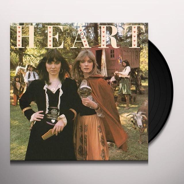 Heart LITTLE QUEEN Vinyl Record - Holland Import