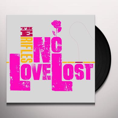 Rifles NO LOVE LOST (RE MASTERED) Vinyl Record
