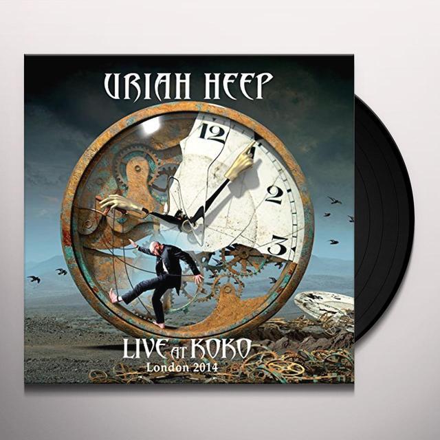Uriah Heep LIVE AT KOKO   (GER) Vinyl Record - Gatefold Sleeve, 180 Gram Pressing