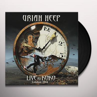 Uriah Heep LIVE AT KOKO    (GER) Vinyl Record - Gatefold Sleeve, Limited Edition, 180 Gram Pressing
