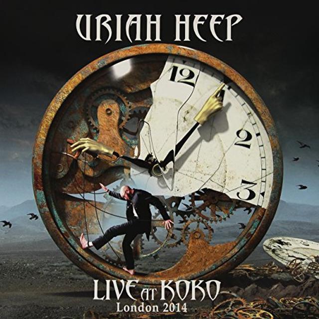 Uriah Heep LIVE AT KOKO    (GER) Vinyl Record - Gatefold Sleeve, Limited Edition, 180 Gram Pressing