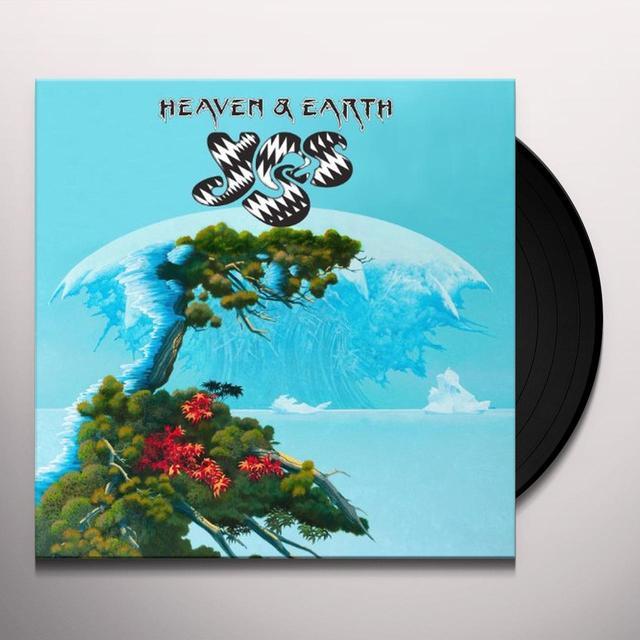 Yes HEAVEN & EARTH (GER) Vinyl Record