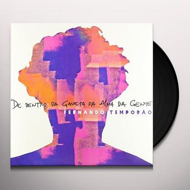 Fernando Temporao DE DENTRO DA GAVETA DA ALMA DA GENTE Vinyl Record - Brazil Import