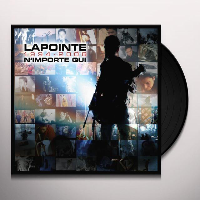 ERIC LAPOINTE 1994-06: N'IMPORTE QUI Vinyl Record - Canada Import