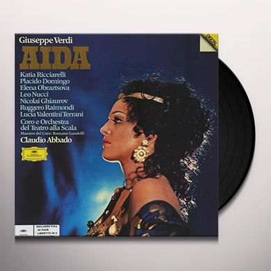 Verdi / P. Domingo / L. Nucci / C. Abbado AIDA (WB) Vinyl Record