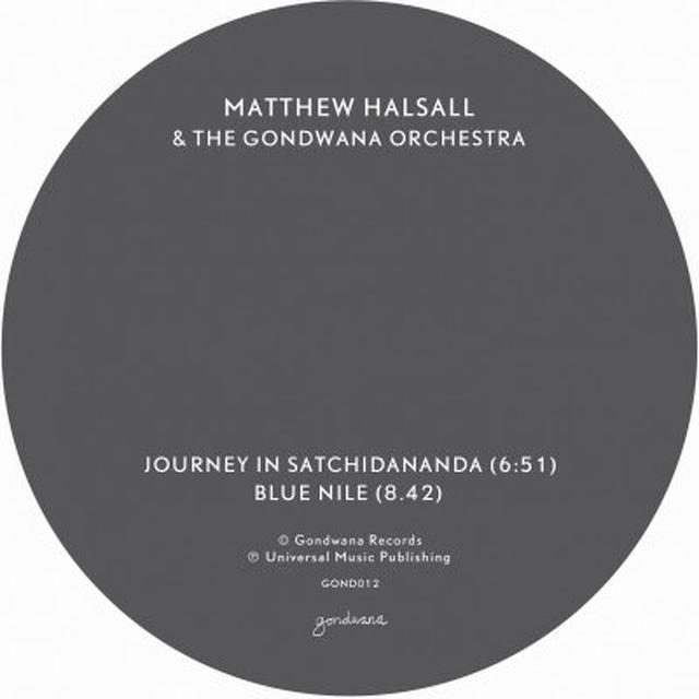 Matthew / Gondwana Orchestra Halsall JOURNEY IN SATCHIDANANDA / BLUE NILE Vinyl Record