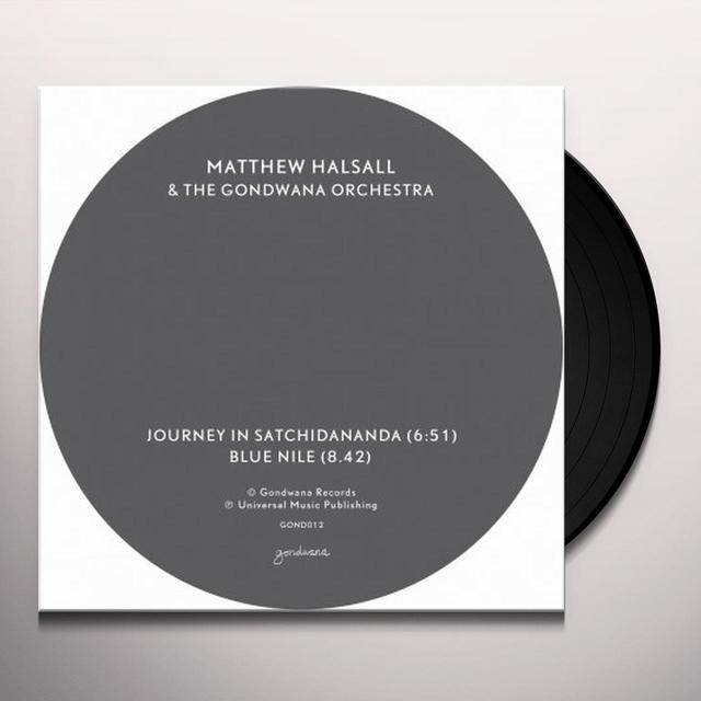 Matthew / Gondwana Orchestra Halsall JOURNEY IN SATCHIDANANDA / BLUE NILE Vinyl Record