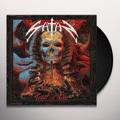 Satan TRAIL OF FIRE - LIVE IN NORTH AMERICA Vinyl Record