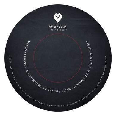 Marco Faraone RESTRICTIONS Vinyl Record