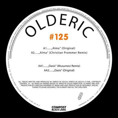 OLDERIC COMPOST BLACK LABEL 125 Vinyl Record