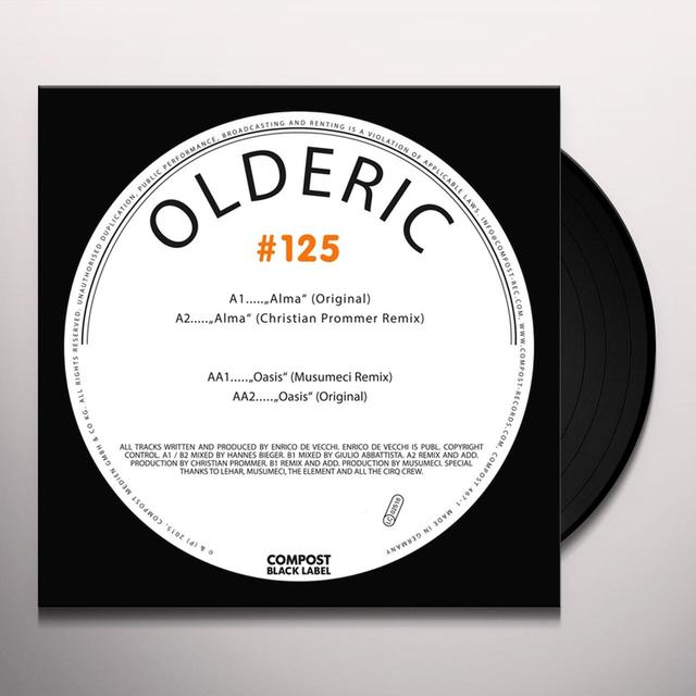 OLDERIC COMPOST BLACK LABEL 125 Vinyl Record