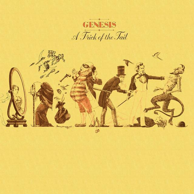 Genesis TRICK OF THE TAIL Vinyl Record