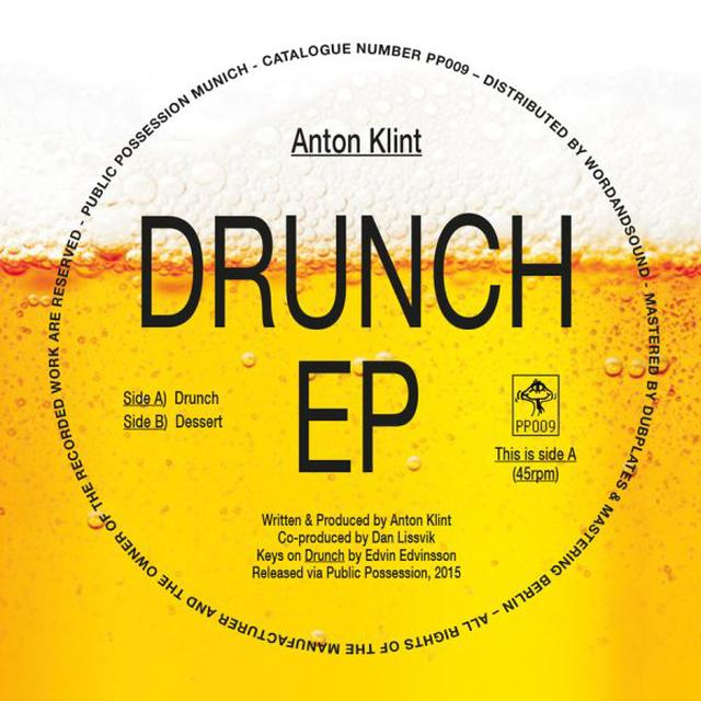 Anton Klint DRUNCH Vinyl Record