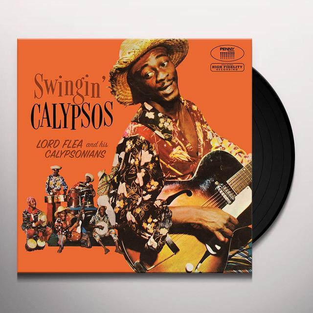 LORD FLEA & HIS CALYPSONIANS SWINGIN' CALYPSOS Vinyl Record - w/CD