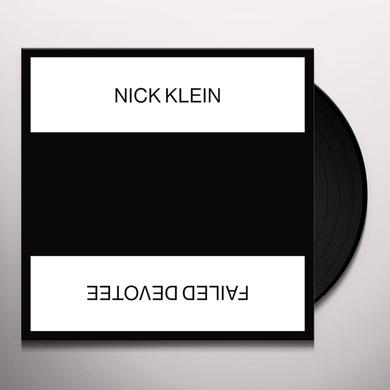 Nick Klein FAILED DEVOTEE Vinyl Record