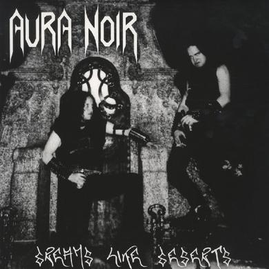 Aura Noir DREAMS LIKE DESERTS Vinyl Record