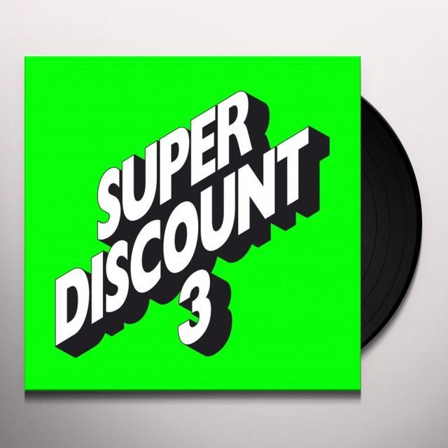 Étienne de Crécy SUPER DISCOUNT 3 Vinyl Record - UK Release