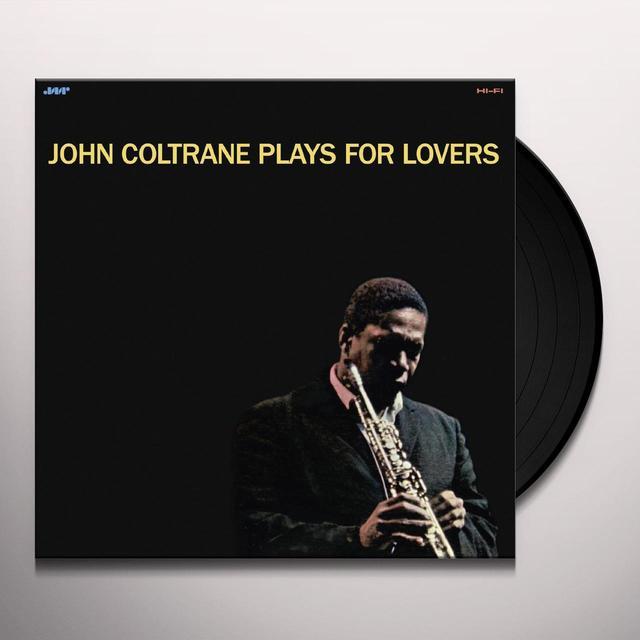 John Coltrane PLAYS FOR LOVERS Vinyl Record - Spain Import