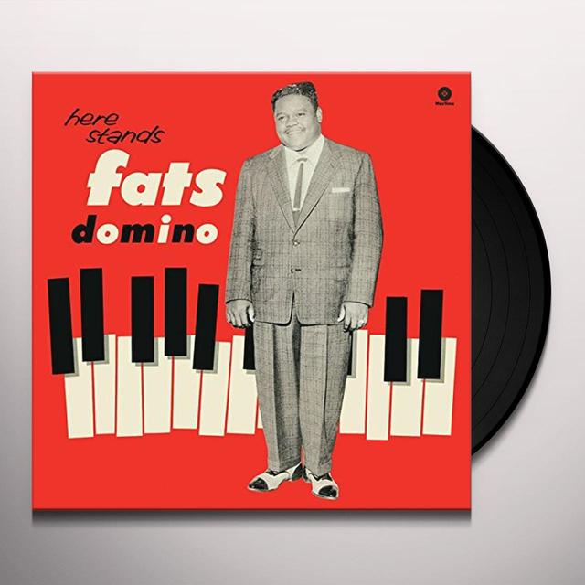 HERE STANDS FATS DOMINO Vinyl Record - Spain Release