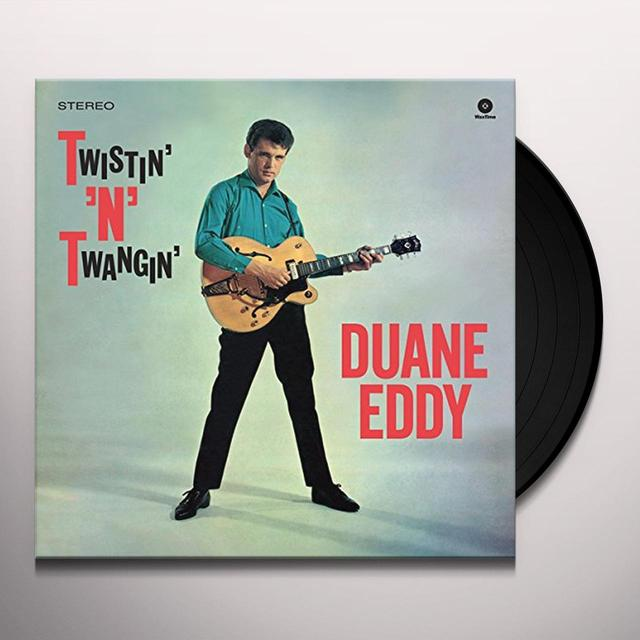 Duane Eddy TWISTIN' N' TWANGIN' Vinyl Record - Spain Import