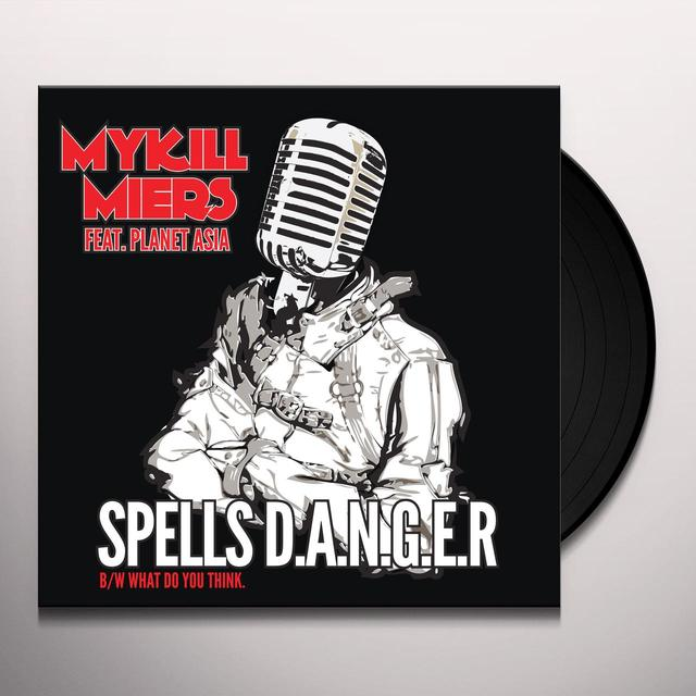 Mykill Miers SPELLS D. A. N. G. E. R Vinyl Record - UK Release