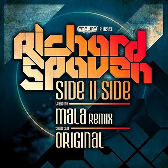 Richard Spaven SIDEIISIDE (MALA REMIX) Vinyl Record - UK Import