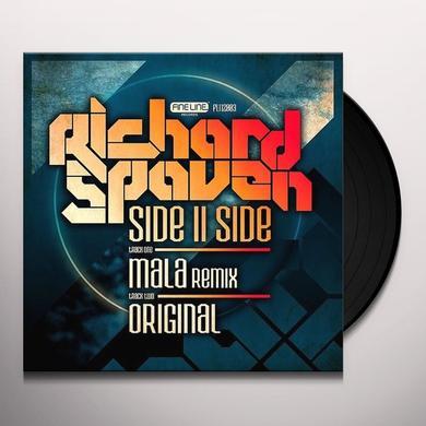 Richard Spaven SIDEIISIDE (MALA REMIX) Vinyl Record - UK Import