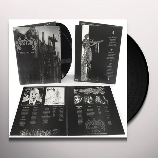 Mortician MORTAL MASSACRE Vinyl Record - UK Release