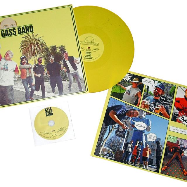 KYLE GASS BAND Vinyl Record - UK Release