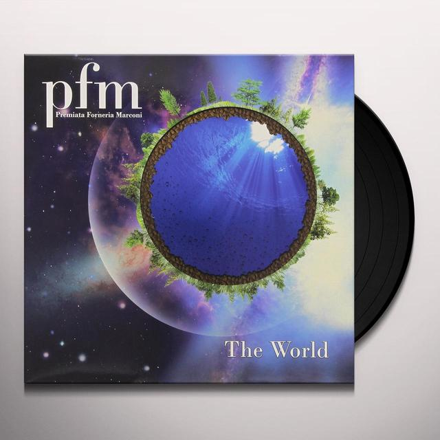 P. F. M. WORLD Vinyl Record - w/CD, Italy Import