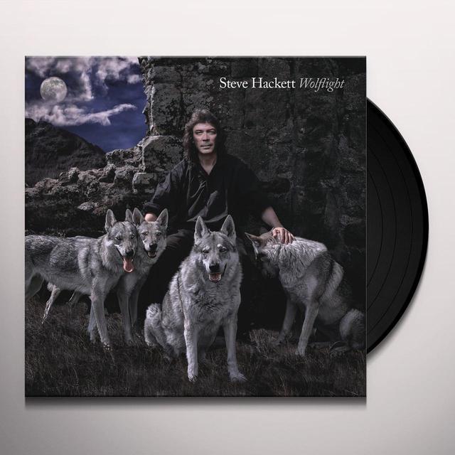 Steve Hackett WOLFLIGHT (BONUS CD) Vinyl Record - UK Import
