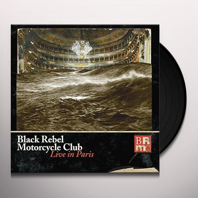 Black Rebel Motorcycle Club LIVE IN PARIS Vinyl Record - UK Release