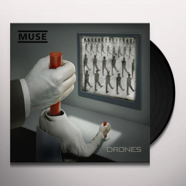 Muse DRONES Vinyl Record - 180 Gram Pressing