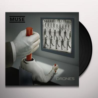 Muse DRONES Vinyl Record