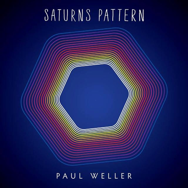 Paul Weller SATURNS PATTERN Vinyl Record - 180 Gram Pressing, Digital Download Included