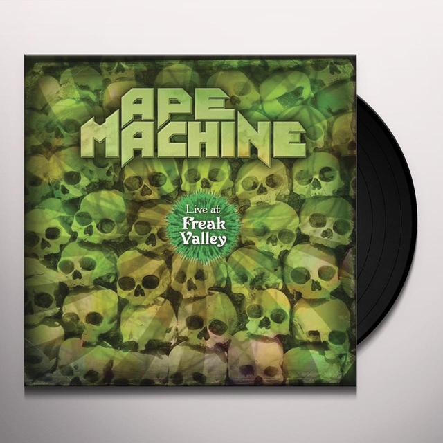 Ape Machine LIVE AT FREAK VALLEY Vinyl Record - Gatefold Sleeve