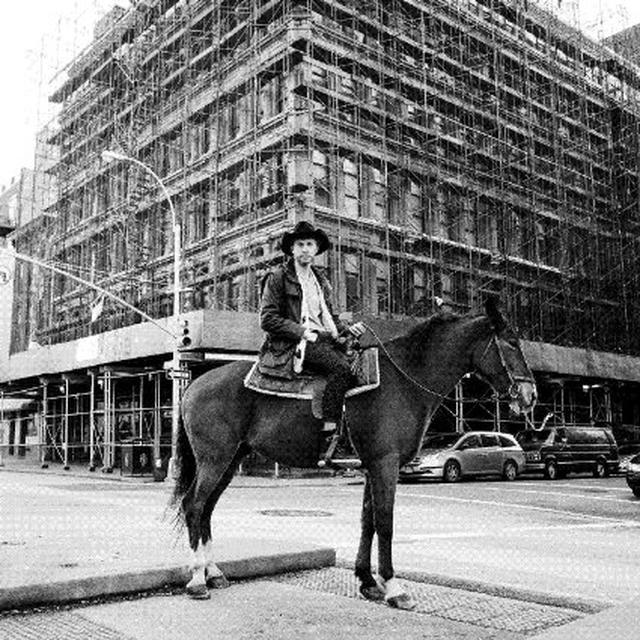 Drew Lustman CRYSTAL COWBOY Vinyl Record - Digital Download Included